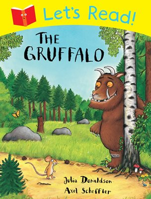 Book cover for Let's Read! The Gruffalo